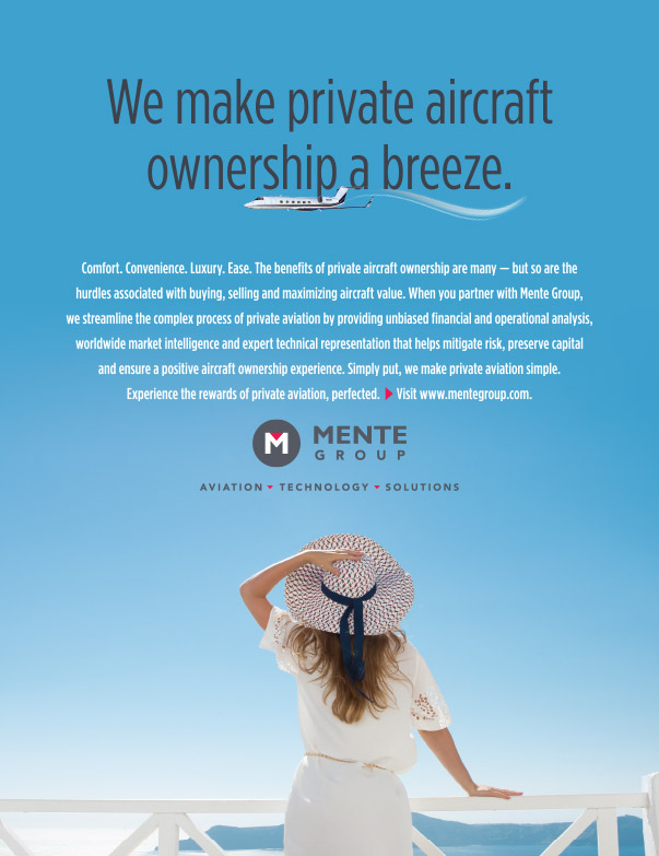 Mente Group Ad Design