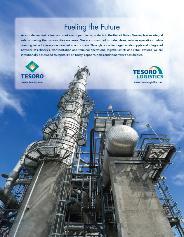 Tesoro Program Ad Design